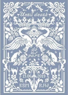 Long Dog Samplers Forevermore printed cross stitch chart - LD103