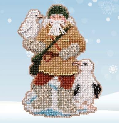Mill Hill Albatross Santa beaded cross stitch kit