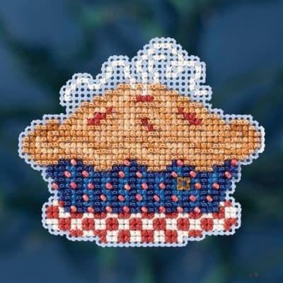 Mill Hill American Pie beaded cross stitch kit