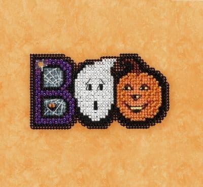 Mill Hill Boo beaded cross stitch kit