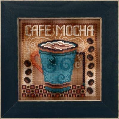 Mill Hill Cafe Mocha beaded cross stitch kit