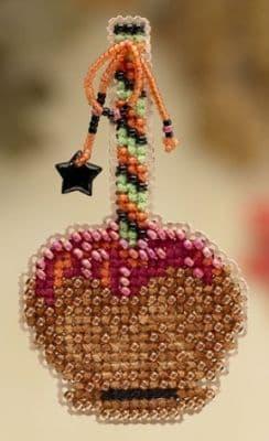 Mill Hill Caramel Apple beaded cross stitch kit