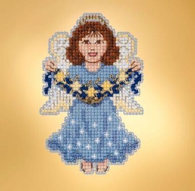 Mill Hill Celestial Angel beaded cross stitch kit