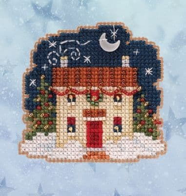 Mill Hill Christmas Eve beaded cross stitch kit
