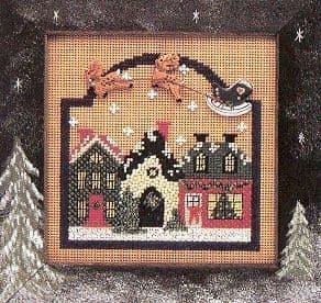 Mill Hill Christmas Village beaded cross stitch kit
