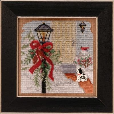 Mill Hill Christmas Welcome beaded cross stitch kit