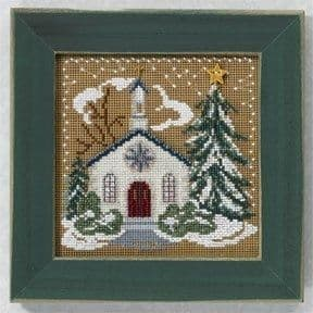 Mill Hill Country Church beaded cross stitch kit