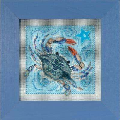 Mill Hill Crab beaded cross stitch kit