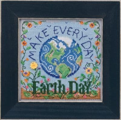 Mill Hill Earth Day beaded cross stitch kit