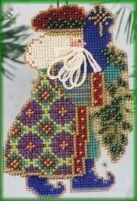 Mill Hill Eastern Star Santa beaded cross stitch kit