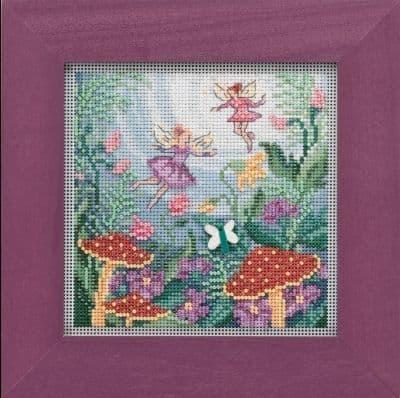 Mill Hill Fairy Garden beaded cross stitch kit