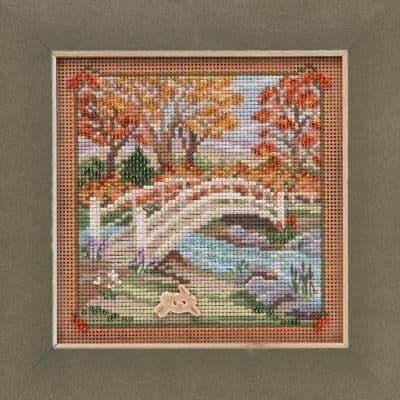Mill Hill Foot Bridge beaded cross stitch kit
