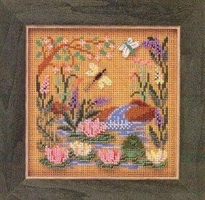 Mill Hill Frog Pond beaded cross stitch kit