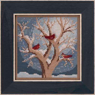 Mill Hill Frosty Morning beaded cross stitch kit