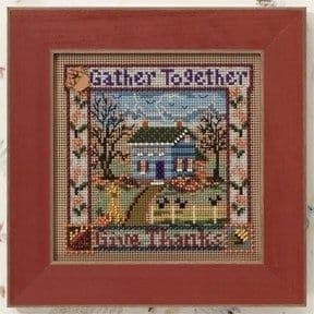 Mill Hill Gather Together beaded cross stitch kit