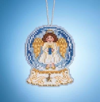 Mill Hill Globe Angel beaded cross stitch kit