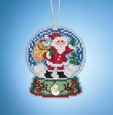 Mill Hill Globe Santa beaded cross stitch kit