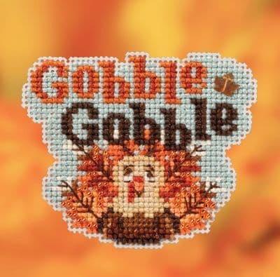 Mill Hill Gobble Gobble beaded cross stitch kit