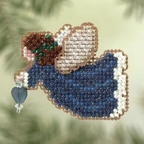 Mill Hill Indigo Angel beaded cross stitch kit