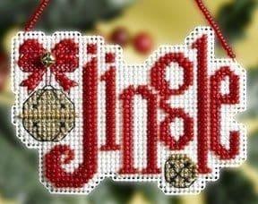 Mill Hill Jingle beaded cross stitch kit