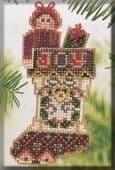 Mill Hill Joyful Stocking beaded cross stitch kit