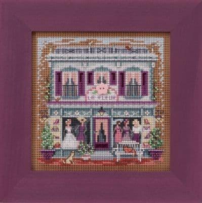 Mill Hill La Fleur Boutique beaded cross stitch kit