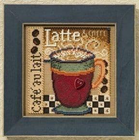 Mill Hill Latte beaded cross stitch kit