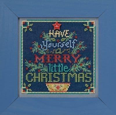 Mill Hill Merry Little Christmas beaded cross stitch kit