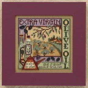 Mill Hill Olive Oil beaded cross stitch kit