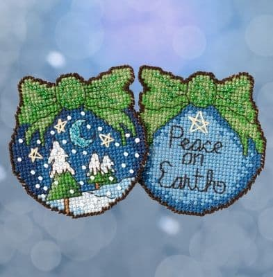 Mill Hill Peace on Earth beaded cross stitch kit