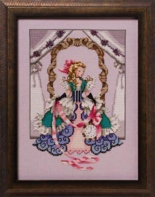 Mirabilia Alice printed cross stitch chart