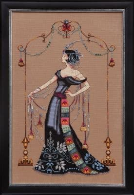 Mirabilia At the Met printed cross stitch chart
