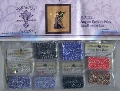 Mirabilia August Peridot Fairy Embellishment Pack