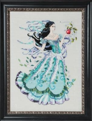Mirabilia Biancabella printed cross stitch chart