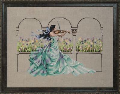 Mirabilia Garden Prelude printed cross stitch chart