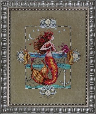 Mirabilia Gypsy Mermaid printed cross stitch chart