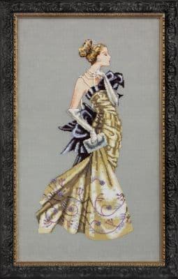Mirabilia Lady Alexandra printed cross stitch chart