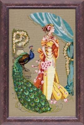 Mirabilia Lady Hera printed cross stitch chart