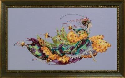 Mirabilia Princess Elliana printed cross stitch chart