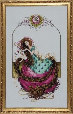 Mirabilia Rapunzel printed cross stitch chart