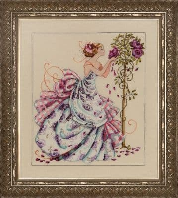Mirabilia Roses of Provence printed cross stitch chart