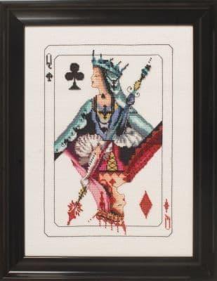 Mirabilia Royal Games II printed cross stitch chart