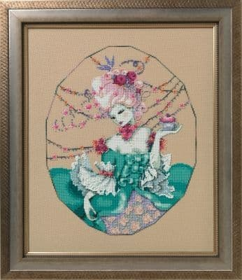 Mirabilia The Baker's Wife printed cross stitch chart