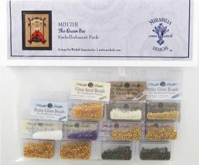Mirabilia The Queen Bee Embellishment Pack