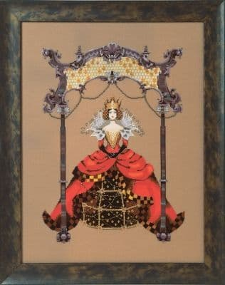 Mirabilia The Queen Bee printed cross stitch chart