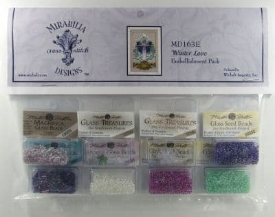 Mirabilia Winter Love Embellishment Pack