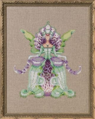 Nora Corbett Imperial Lady D printed cross stitch chart