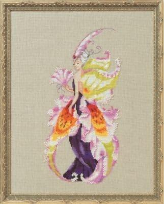 Nora Corbett Lady Catt printed cross stitch chart