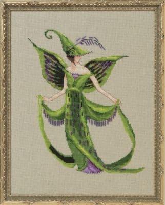 Nora Corbett Lady Skein printed cross stitch chart