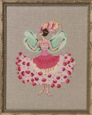 Nora Corbett Miss Cymbi printed cross stitch chart